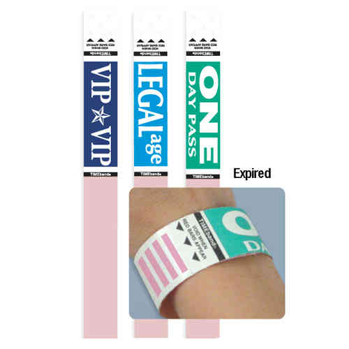 TIMEband One Day Expiring Wristband - Legal Age - 1000pk (06884) Image 1