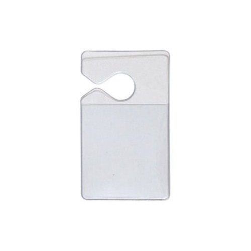 Clear Vinyl Tag Holders Image 1