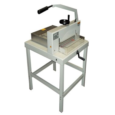"Tamerica Guillomax Plus 18"" Heavy Duty Paper Stack Cutter With Stand (TP-GUILLOMAXPLUS) Image 1"