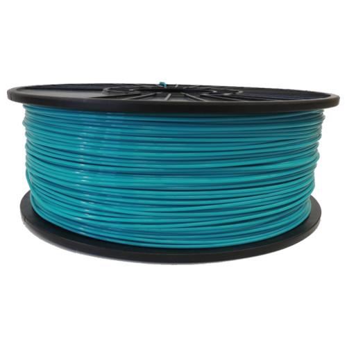 Turquoise Blue 3mm PLA Filament 2.5LB Spool (TQBLPLAFSPOOL3) Image 1