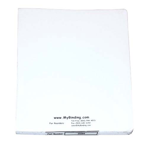 "GBC Twill White 8.75"" x 11.25"" Covers 50pk (25304) Image 1"