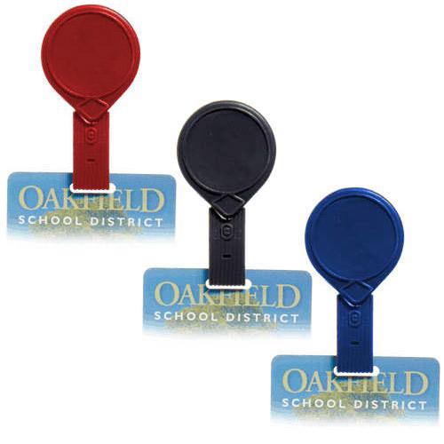 Twist-Free Mini-Bak Badge Reel with Belt Clip - 25pk (MYTFMBBRBC) Image 1