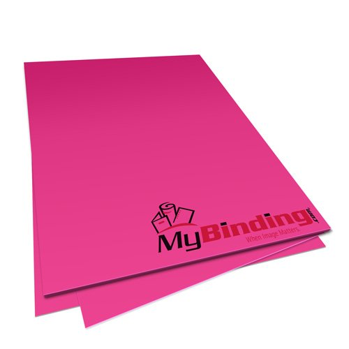 Fireball Fuchsia Astrobrights 24lb Unpunched Binding Paper - 500 Sheets (UPP24ABFF) Image 1