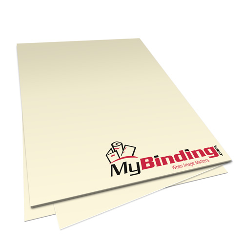 Ivory 20lb Unpunched Binding Paper - 500 Sheets (PPP20DMIV85X11-11) Image 1