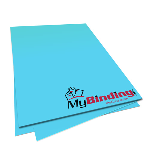 Lunar Blue Astrobrights 24lb Unpunched Binding Paper - 500 Sheets (UPP24ABLB), Binding Supplies Image 1