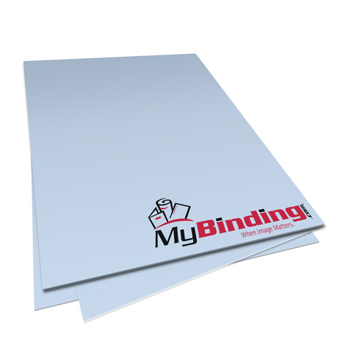 Pastel Blue 24lb Unpunched Binding Paper - 500 Sheets (PPP24DMBL85X11-11), MyBinding brand Image 1