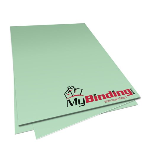 Pastel Green 24lb Unpunched Binding Paper - 500 Sheets (PPP24DMGR85X11-11), MyBinding brand Image 1
