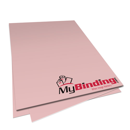 Pastel Pink 20lb Unpunched Binding Paper - 500 Sheets (PPP20DMPI85X11-11) Image 1