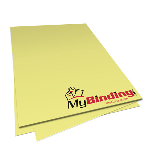 Yellow Bond Paper Image 1