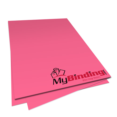 Plasma Pink Astrobrights 24lb Unpunched Binding Paper - 500 Sheets (UPP24ABPLP) Image 1