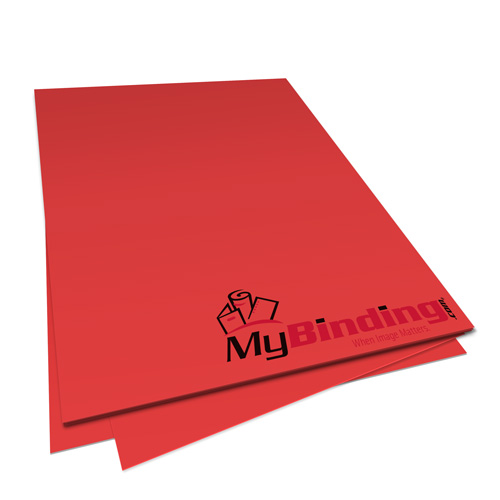 Re-Entry Red Astrobrights 24lb Unpunched Binding Paper - 500 Sheets (UPP24ABRER) Image 1
