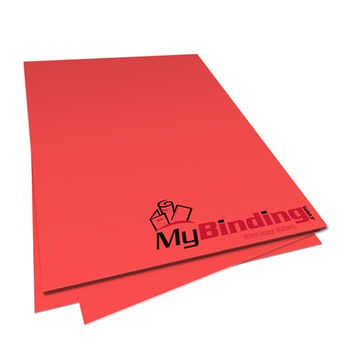 Rocket Red Astrobrights 24lb Unpunched Binding Paper - 500 Sheets (UPP24ABRR) Image 1