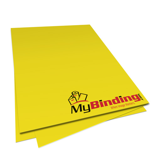 Sunburst Yellow Astrobrights 24lb Unpunched Binding Paper - 500 Sheets (UPP24ABSUY) Image 1