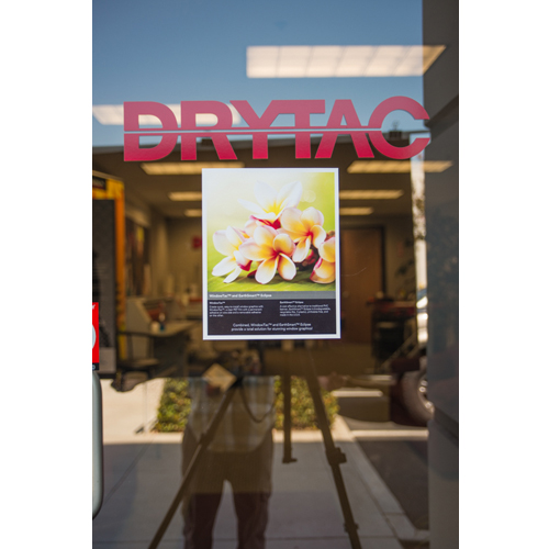 Drytac WindowTac Pressure Sensitive Mounting Adhesive (PWD164), Laminating Film Image 1