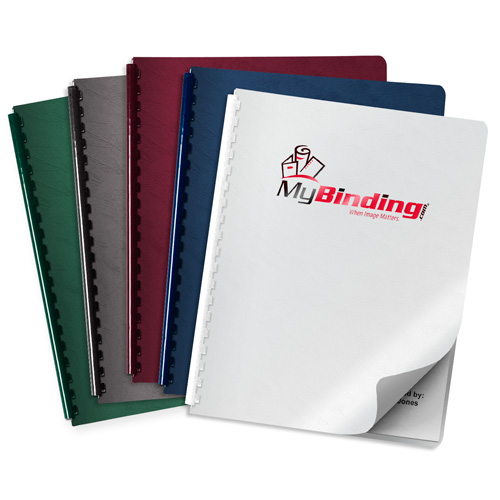 Grain UV Printed Covers - Add Your Logo (MYUVPC-GRAIN) Image 1