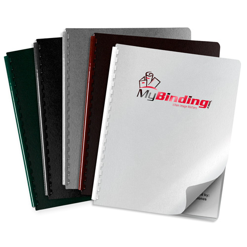 Regency Leatherette UV Printed Covers - Add Your Logo (MYUVPC-LEATHER) Image 1