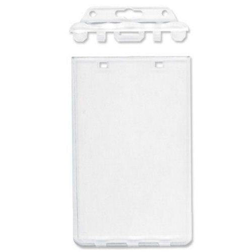Clear Permanent Locking Proximity Card Holder Image 1