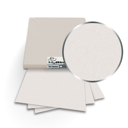 Virtual Pearl 9 x 11 Index Allowance Metallics Covers With Windows - 50 Sets (MYMC9X11VPW) Image 1