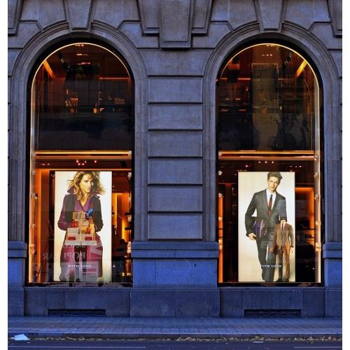 "Drytac ViziPrint Illuminate 4mil 54"" x 98' Translucent Matte Printable Window Film (VPIL54098) Image 1"