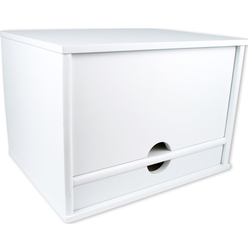 Victor Technology Desktop Organizer (Pure White) (W4720) Image 1