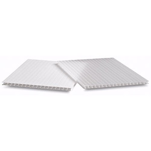White Corrugated Plastic Mounting Boards Image 1
