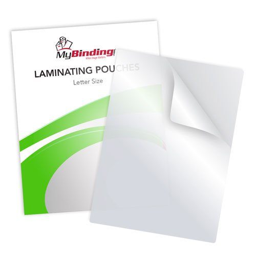 10mil White Laminating Pouches