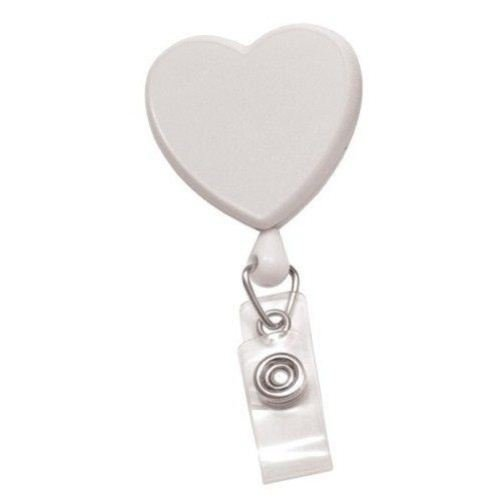 Heart Shaped Badge Reels Image 1