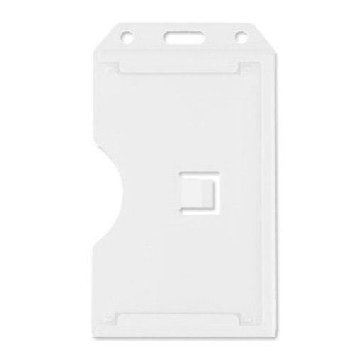 White Id Card Holder Image 1