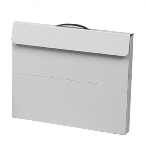 "Flipside 23"" x 31"" White Portfolio Cases - 10pk (FS-20090) Image 1"