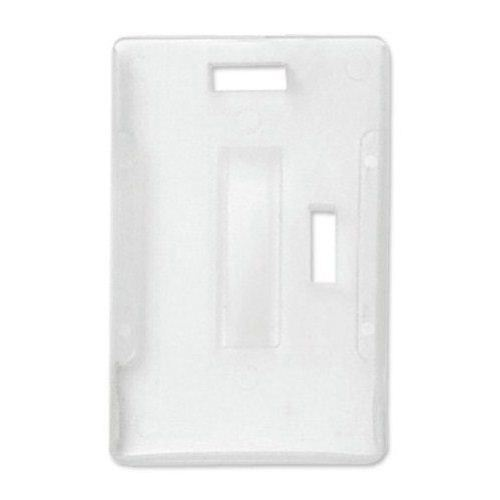 Plastic 2 Card Badge Holder Image 1