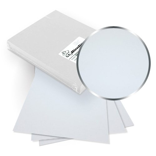 White Twill 8.5 x 11 Letter Size Covers With Windows (MYTW8.5X11WHW) Image 1