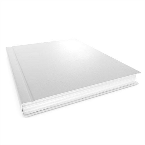 White Hard Covers Image 1