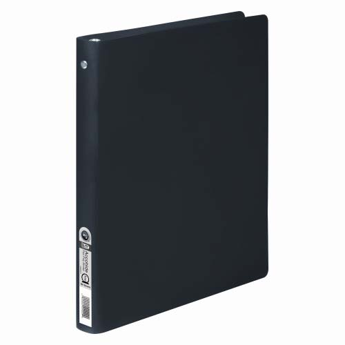 "Wilson Jones 1/2"" Black Flexible ACCOHIDE Ring Binder 20pk (A7039701A), Wilson Jones brand Image 1"