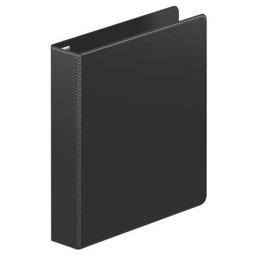 "Wilson Jones 1.5"" Black Ultra Duty D-Ring Binder 12pk (W87603PP2) Image 1"