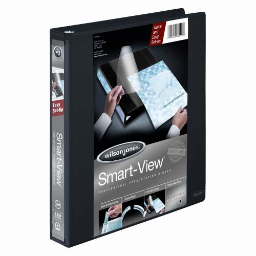 Smart View Vinyl Binders Image 1