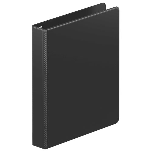 "Wilson Jones 1"" Black Ultra Duty D-Ring Binder 12pk (W87600PP2) Image 1"