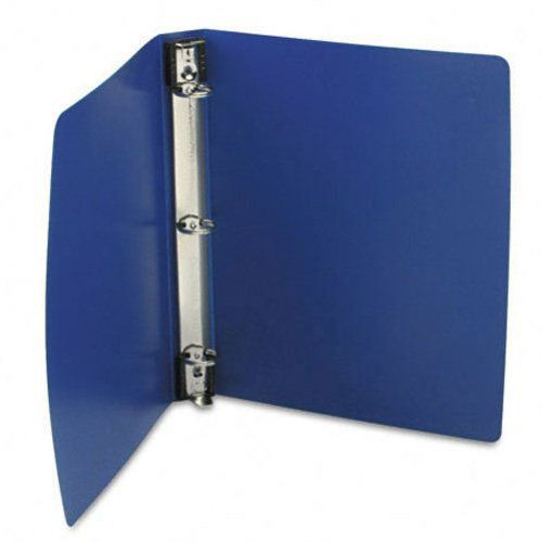 "Wilson Jones 1"" Blue Semi-Rigid Hanging Poly Binders 12pk (W390-14BLD) Image 1"
