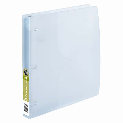 "Wilson Jones 1"" Clear Translucent Poly Binders 10pk (A7040755)"