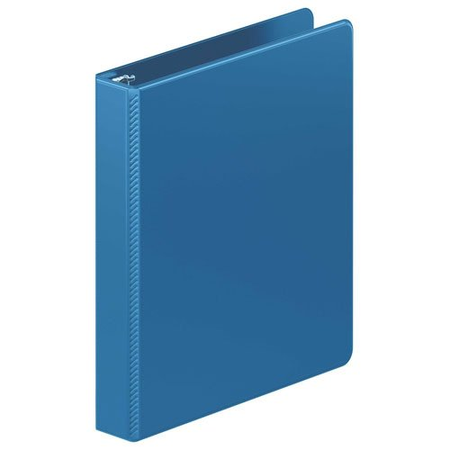 "Wilson Jones 1"" Light Blue Heavy Duty Round Ring Binder 12pk (W364-14-7462PP) Image 1"