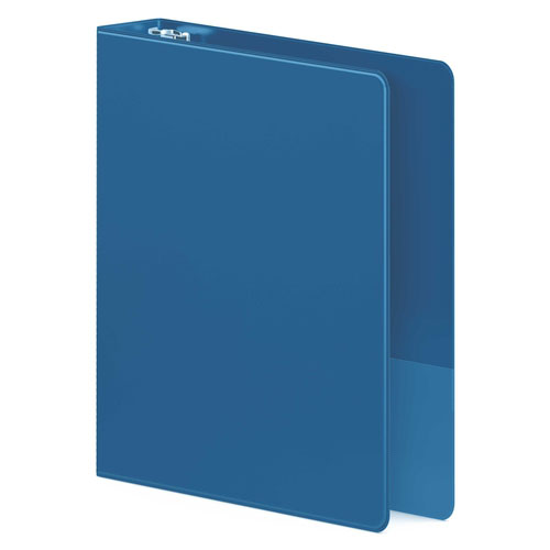 "Wilson Jones 1"" PC Blue Heavy Duty D-Ring Binder 12pk (W384-14-7462PP) Image 1"