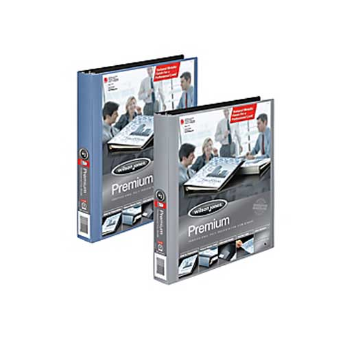 "Wilson Jones 1"" Premium Colored View Metallic Binders 12pk (W88211) Image 1"