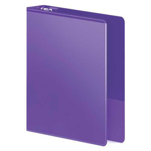 "Wilson Jones 1"" Purple Heavy Duty D-Ring View Binder 12pk (W385-14-267PP), Wilson Jones brand Image 1"