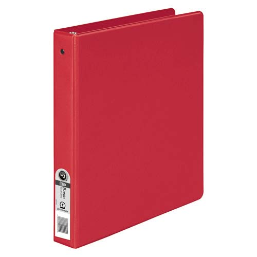 "Wilson Jones 1"" Red Basic Opaque Round Ring Binders 12pk - PP1 (W368-14NR), Wilson Jones brand Image 1"