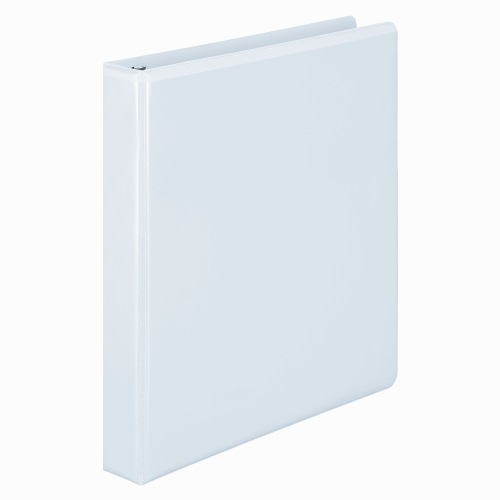 "Wilson Jones 1"" White Basic D-Ring View Binders 12pk - W386-14WPP (W386-14WA) Image 1"