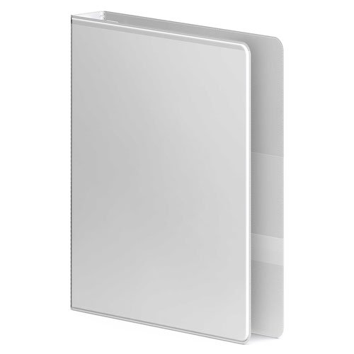 "Wilson Jones 1"" White Ultra Duty Round Ring View Binder 12pk (W87902PP2), Wilson Jones brand Image 1"