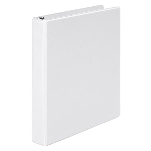 "Wilson Jones 1"" White Basic Opaque Round Ring Binders 12pk - PP (W368-14NW) - $31.2 Image 1"