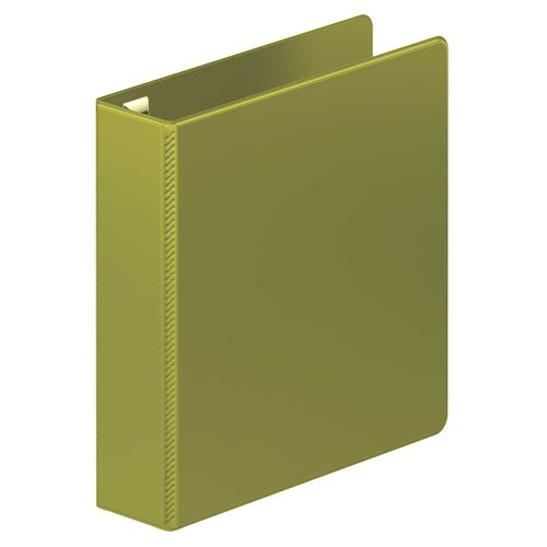 "Wilson Jones 2"" Army Green Ultra Duty D-Ring Binder 8pk (W876-44-384PP), Wilson Jones brand Image 1"