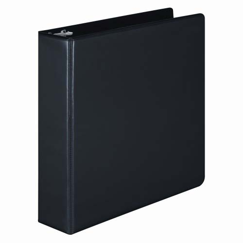 "Wilson Jones 2"" Black Basic Round Ring View Binders 12pk - PP (W362-44B) - $71.13 Image 1"