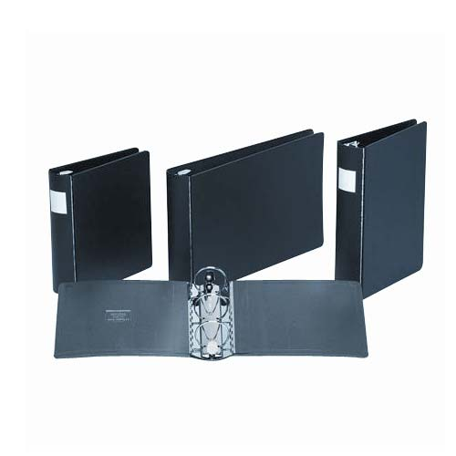"Wilson Jones 2"" Black Casebound 14"" x 8.5"" Ring Binders 12pk (W344-48L), Wilson Jones brand Image 1"