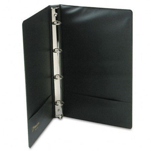 Black Legal Size Vinyl Binders Image 1
